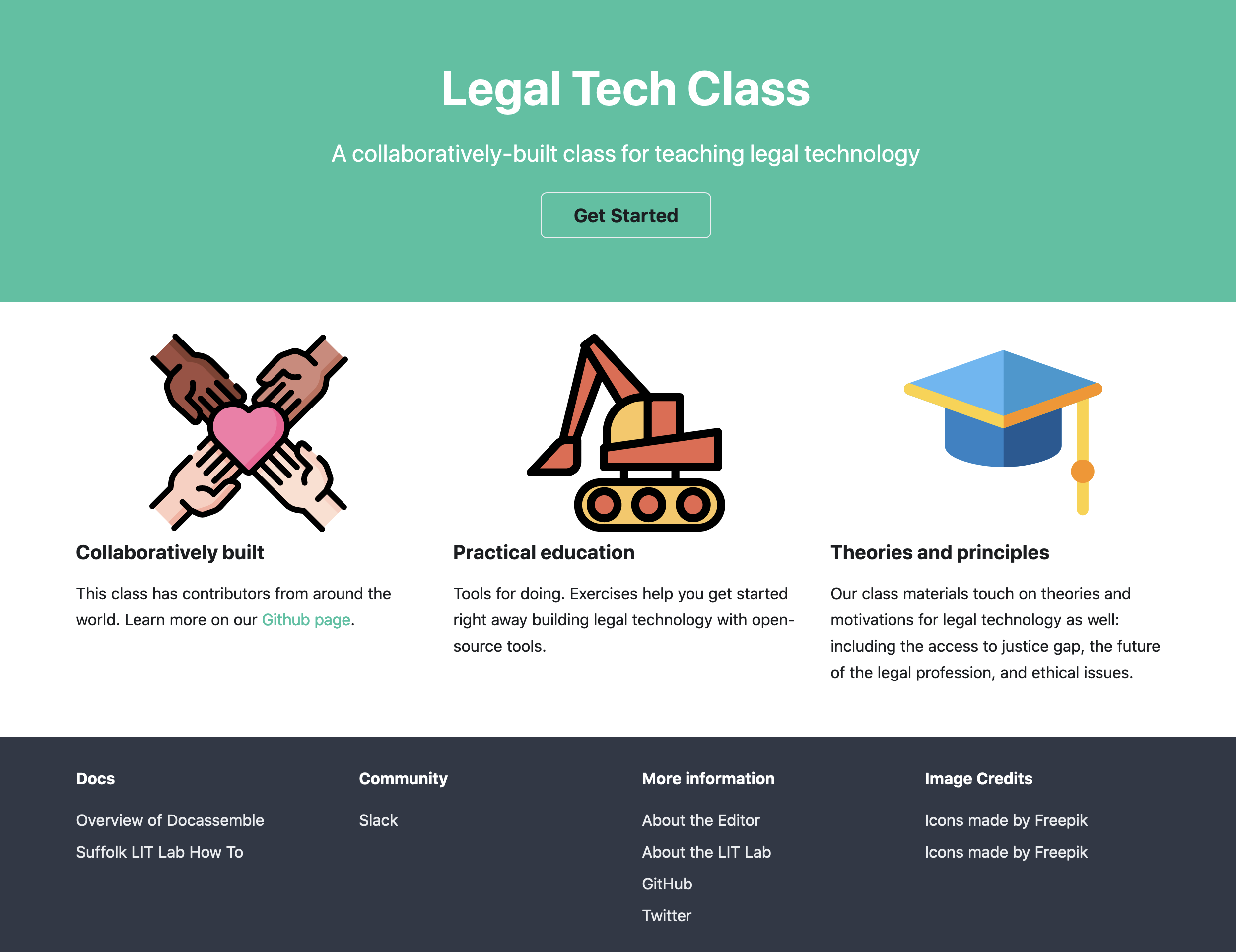 Legal Tech Class Screenshot